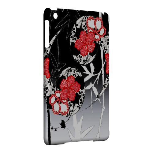 Geeks Designer Line (GDL) Slim Hard Case for Apple iPad Mini - Bamboo Yin Yang