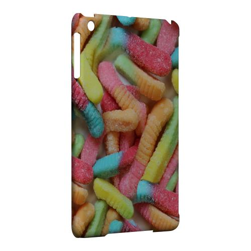 Geeks Designer Line (GDL) Slim Hard Case for Apple iPad Mini - Multi-Colored Gummy Worms