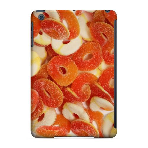 Geeks Designer Line (GDL) Slim Hard Case for Apple iPad Mini - Orange/White Gummy Rings