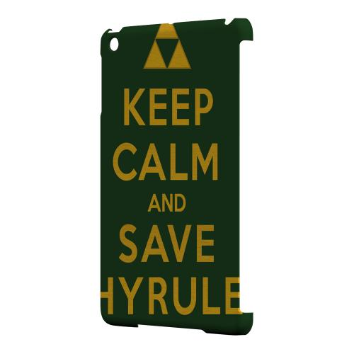 Geeks Designer Line (GDL) Slim Hard Case for Apple iPad Mini - Green Save Hyrule