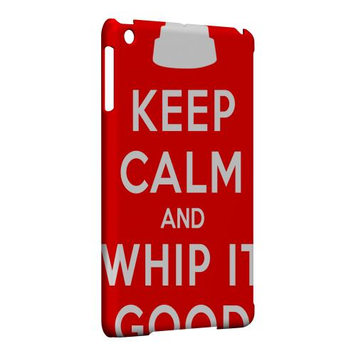 Geeks Designer Line (GDL) Slim Hard Case for Apple iPad Mini - Red Whip It Good