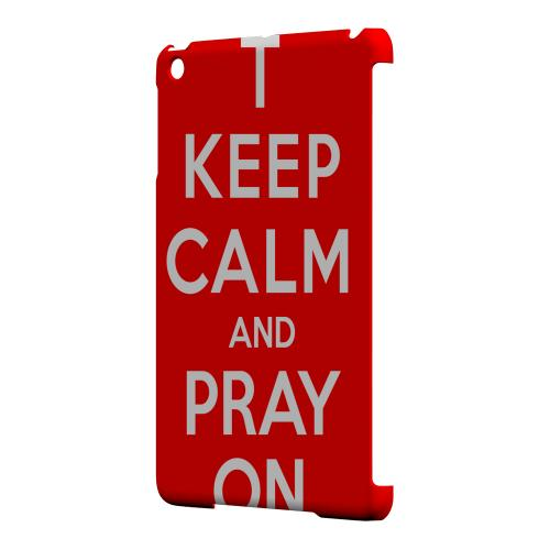 Geeks Designer Line (GDL) Slim Hard Case for Apple iPad Mini - Red Pray On