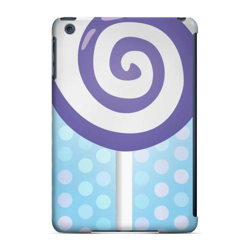 Geeks Designer Line (GDL) Slim Hard Case for Apple iPad Mini - Purple Lollipop
