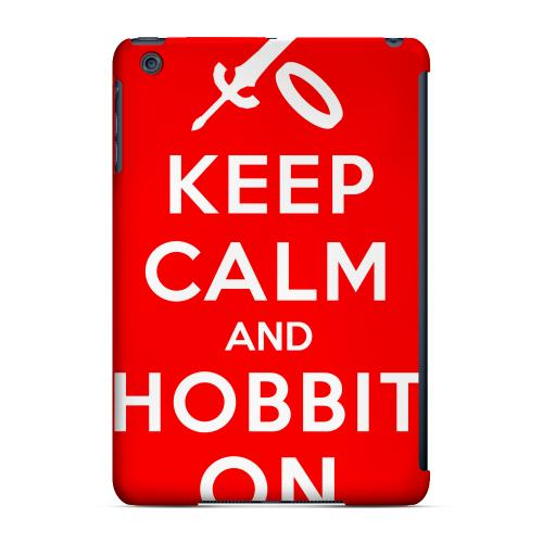 Geeks Designer Line (GDL) Slim Hard Case for Apple iPad Mini - Red Hobbit On