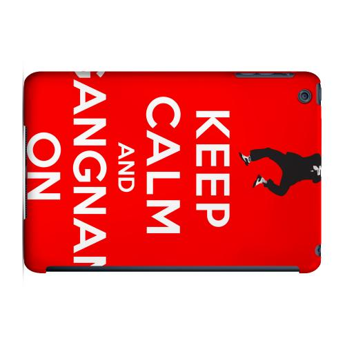Geeks Designer Line (GDL) Slim Hard Case for Apple iPad Mini - Red Gangnam On