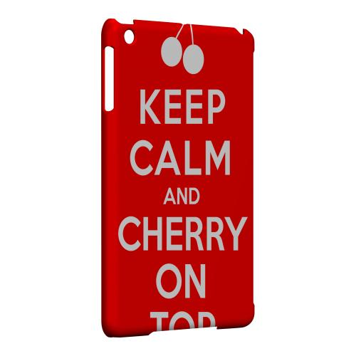Geeks Designer Line (GDL) Slim Hard Case for Apple iPad Mini - Red Cherry On Top