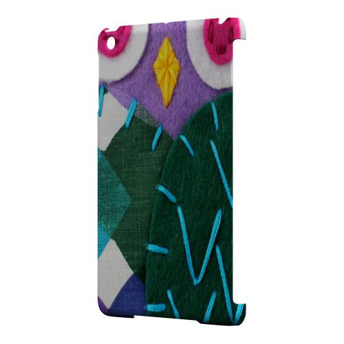 Geeks Designer Line (GDL) Slim Hard Case for Apple iPad Mini - Purple/ Green Owl