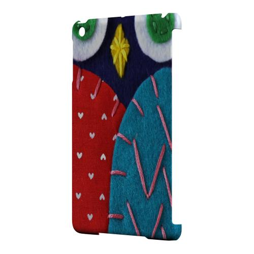 Geeks Designer Line (GDL) Slim Hard Case for Apple iPad Mini - Dark Blue/ Red Owl