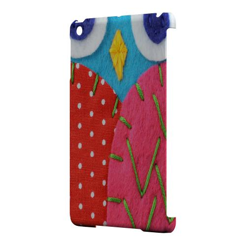 Geeks Designer Line (GDL) Slim Hard Case for Apple iPad Mini - Sky Blue/ Pink Owl