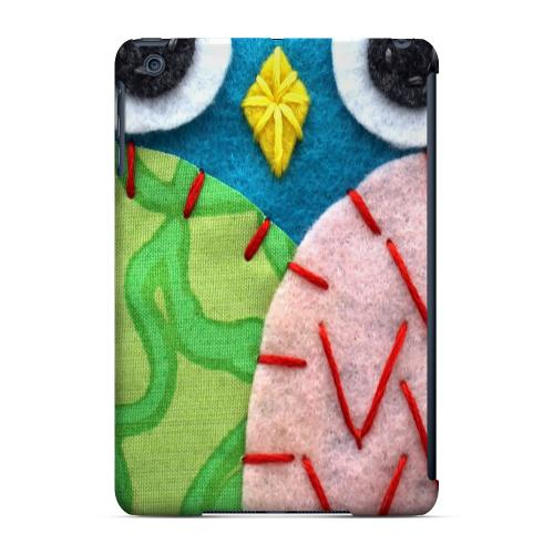 Geeks Designer Line (GDL) Slim Hard Case for Apple iPad Mini - Blue/ Green Owl