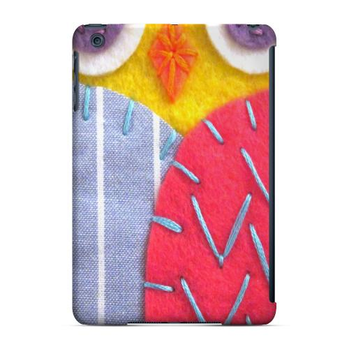 Geeks Designer Line (GDL) Slim Hard Case for Apple iPad Mini - Yellow/ Pink Owl