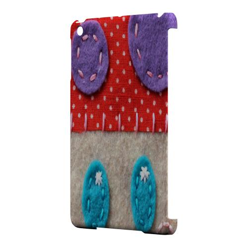 Geeks Designer Line (GDL) Slim Hard Case for Apple iPad Mini - Red/ Purple Mushroom