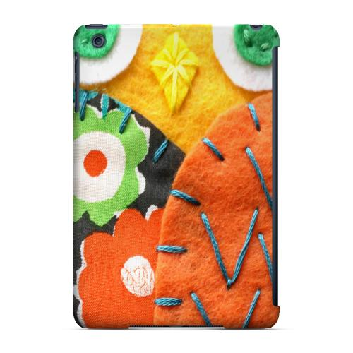Geeks Designer Line (GDL) Slim Hard Case for Apple iPad Mini - Yellow/ Orange Owl