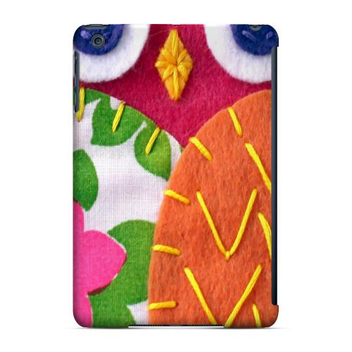 Geeks Designer Line (GDL) Slim Hard Case for Apple iPad Mini - Hot Pink/ Green Owl