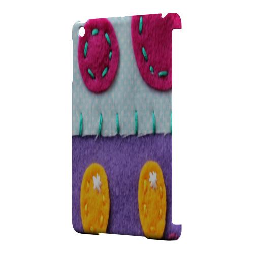 Geeks Designer Line (GDL) Slim Hard Case for Apple iPad Mini - Purple/ Pink Mushroom