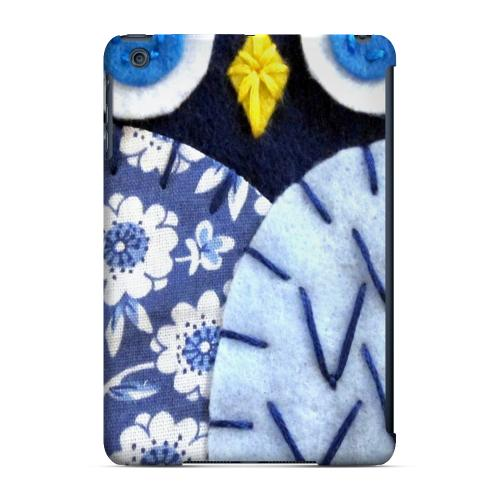 Geeks Designer Line (GDL) Slim Hard Case for Apple iPad Mini - Night Blue Owl