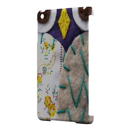 Geeks Designer Line (GDL) Slim Hard Case for Apple iPad Mini - Blue/ Gray Owl