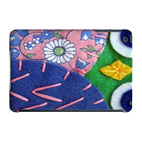 Geeks Designer Line (GDL) Slim Hard Case for Apple iPad Mini - Green/ Blue Owl