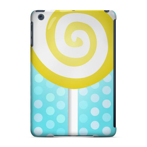 Geeks Designer Line (GDL) Slim Hard Case for Apple iPad Mini - Yellow Lollipop