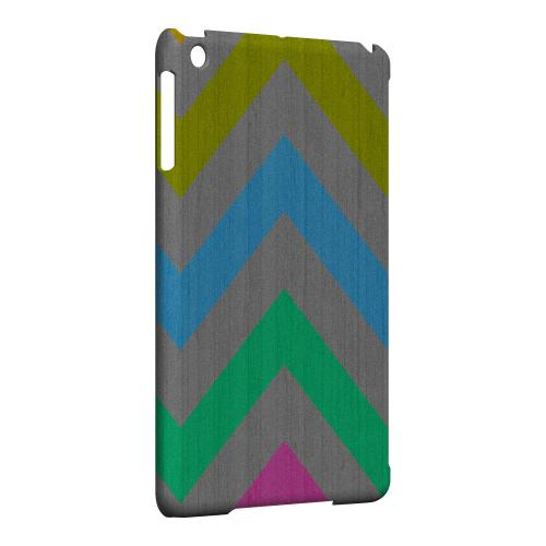 Geeks Designer Line (GDL) Slim Hard Case for Apple iPad Mini - Grungy Multi-Colors on Gray
