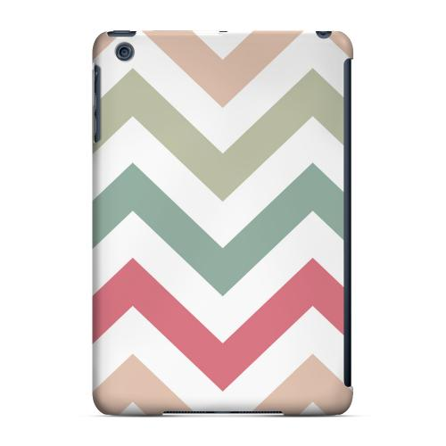 Geeks Designer Line (GDL) Slim Hard Case for Apple iPad Mini - Green/ Red on White