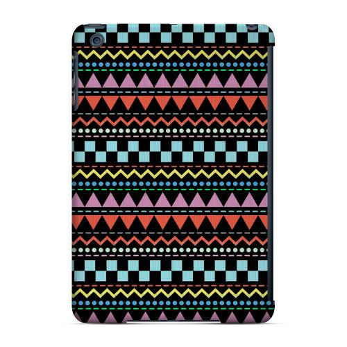 Geeks Designer Line (GDL) Slim Hard Case for Apple iPad Mini - Multi-Shapes & Colors on Black