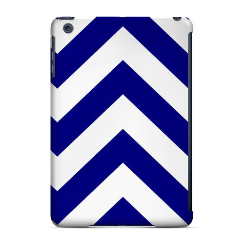 Geeks Designer Line (GDL) Slim Hard Case for Apple iPad Mini - Navy Blue on White