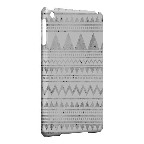 Geeks Designer Line (GDL) Slim Hard Case for Apple iPad Mini - Grungy Triangles