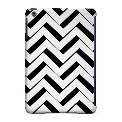 Geeks Designer Line (GDL) Slim Hard Case for Apple iPad Mini - Black/ White 3D