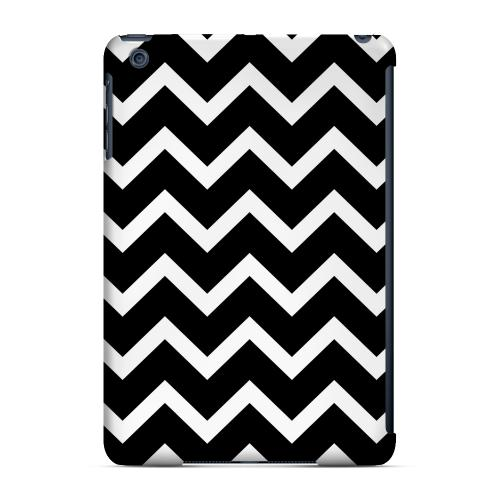 Geeks Designer Line (GDL) Slim Hard Case for Apple iPad Mini - White on Black