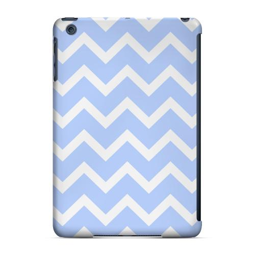 Geeks Designer Line (GDL) Slim Hard Case for Apple iPad Mini - White on Light Blue