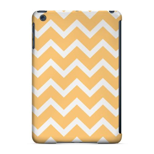 Geeks Designer Line (GDL) Slim Hard Case for Apple iPad Mini - White on Light Orange