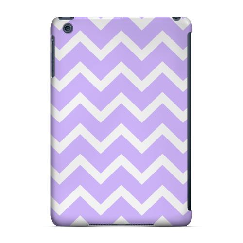 Geeks Designer Line (GDL) Slim Hard Case for Apple iPad Mini - White on Light Purple