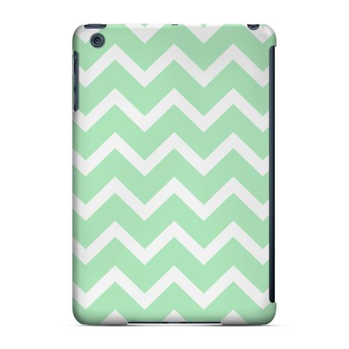 Geeks Designer Line (GDL) Slim Hard Case for Apple iPad Mini - White on Mint