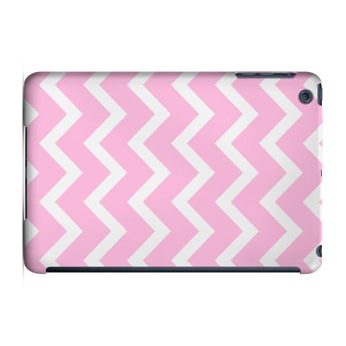 Geeks Designer Line (GDL) Slim Hard Case for Apple iPad Mini - White on Pink