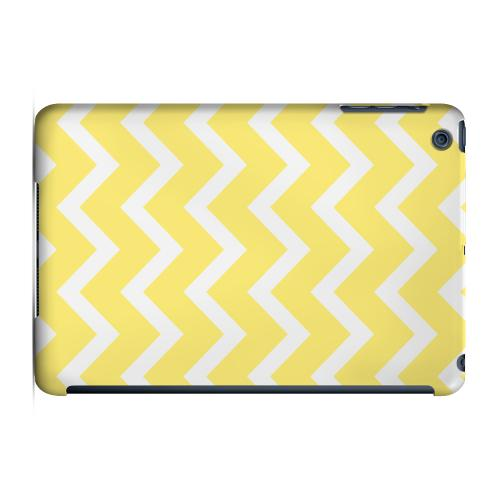 Geeks Designer Line (GDL) Slim Hard Case for Apple iPad Mini - White on Yellow