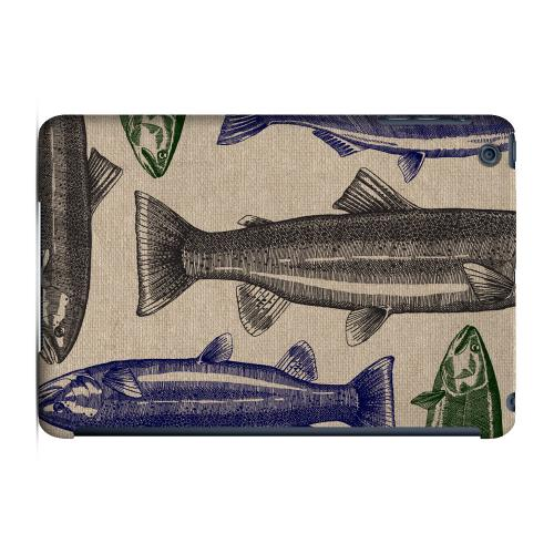 Geeks Designer Line (GDL) Slim Hard Case for Apple iPad Mini - Trout Print