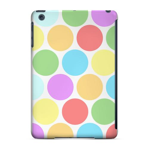 Geeks Designer Line (GDL) Slim Hard Case for Apple iPad Mini - Big & Rainbow on White