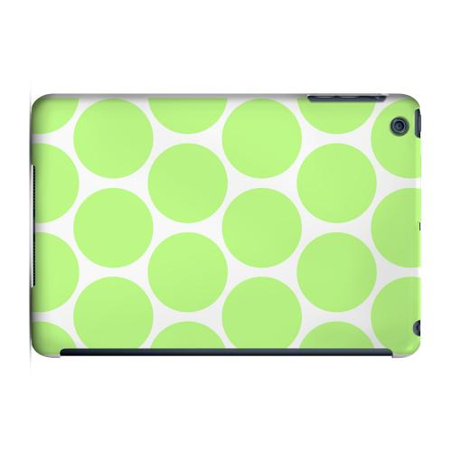 Geeks Designer Line (GDL) Slim Hard Case for Apple iPad Mini - Big & Lime Green