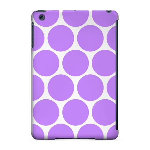 Geeks Designer Line (GDL) Slim Hard Case for Apple iPad Mini - Big & Purple