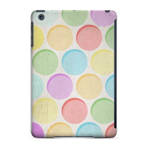 Geeks Designer Line (GDL) Slim Hard Case for Apple iPad Mini - Grungy & Rainbow
