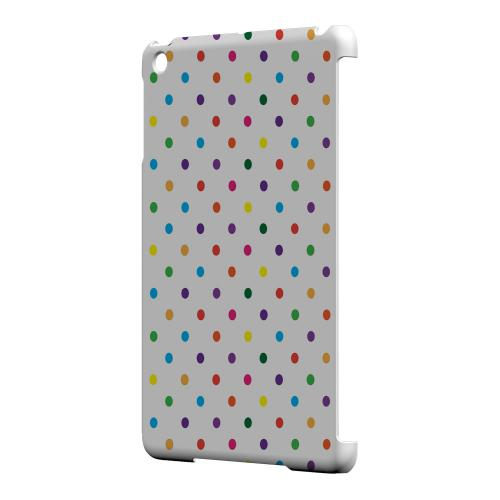 Geeks Designer Line (GDL) Slim Hard Case for Apple iPad Mini - Small & Rainbow on White