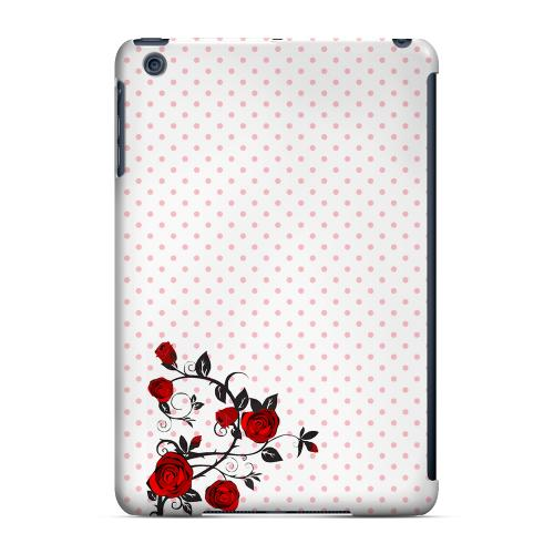 Geeks Designer Line (GDL) Slim Hard Case for Apple iPad Mini - Rose Vine