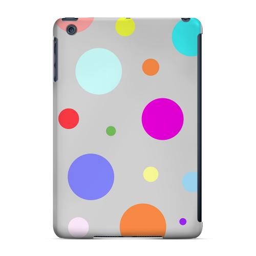 Geeks Designer Line (GDL) Slim Hard Case for Apple iPad Mini - Random & Rainbow on Gray
