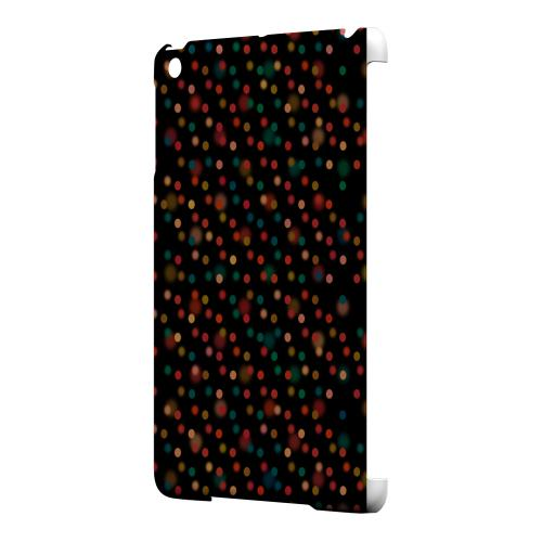 Geeks Designer Line (GDL) Slim Hard Case for Apple iPad Mini - Faded Rainbow Dots on Black
