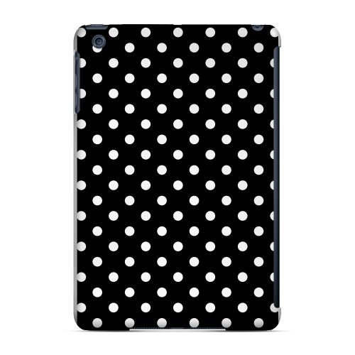 Geeks Designer Line (GDL) Slim Hard Case for Apple iPad Mini - White Dots on Black