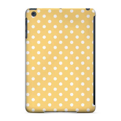 Geeks Designer Line (GDL) Slim Hard Case for Apple iPad Mini - White Dots on Orange
