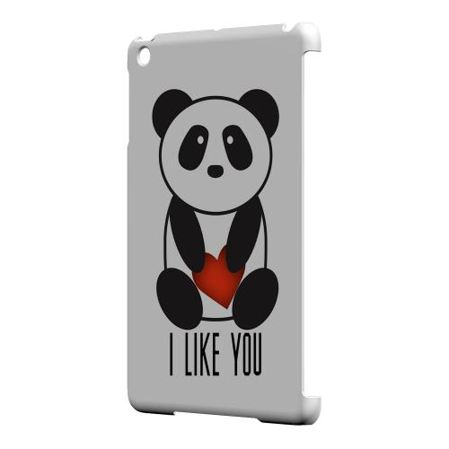 Geeks Designer Line (GDL) Slim Hard Case for Apple iPad Mini - I Like You Panda