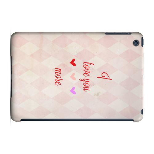 Geeks Designer Line (GDL) Slim Hard Case for Apple iPad Mini - I Love You More