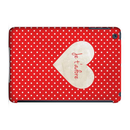 Geeks Designer Line (GDL) Slim Hard Case for Apple iPad Mini - Je t'adore
